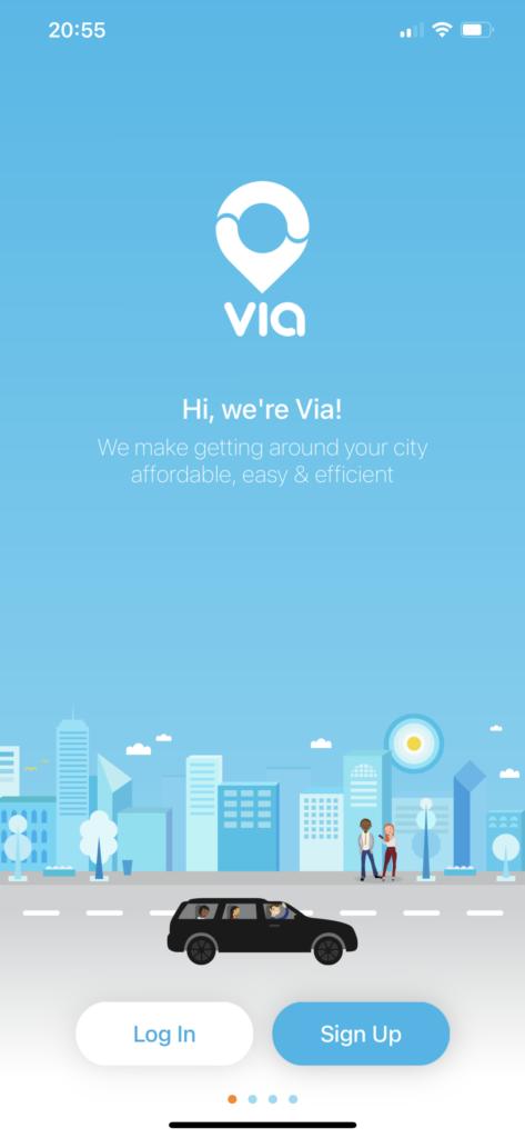 Birmingham innovation Via app